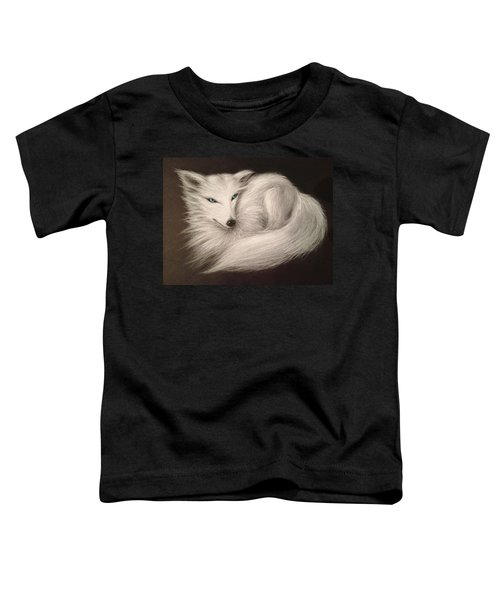 White Fox Toddler T-Shirt