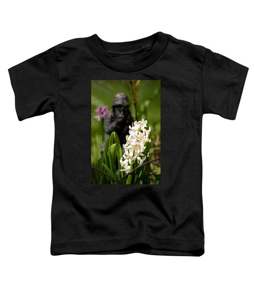 White Hyacinth In The Garden Toddler T-Shirt