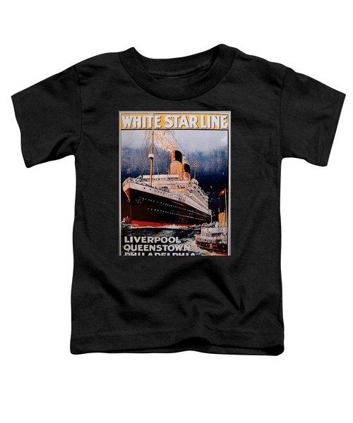 White Star Line Poster 1 Toddler T-Shirt