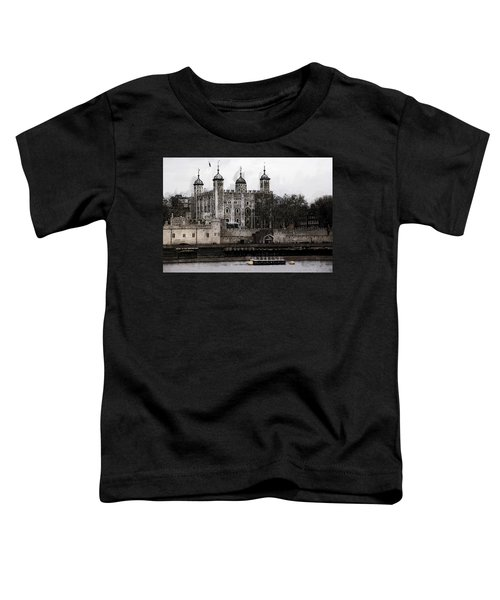 White Tower At Tower Of London Toddler T-Shirt