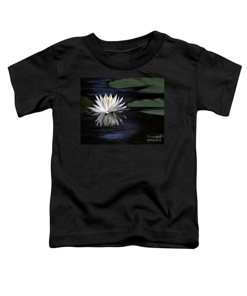 White Water Lily Left Toddler T-Shirt