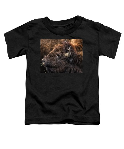 Wild Eye - Bison - Yellowstone Toddler T-Shirt