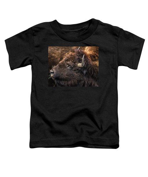 Wild Eye - Bison - Yellowstone Toddler T-Shirt