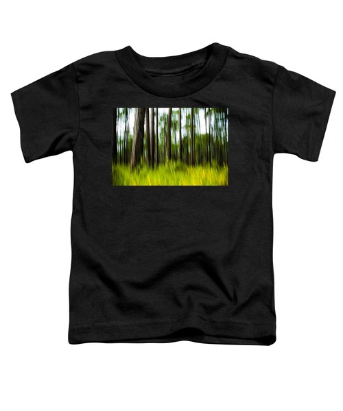 Wildflowers In The Forest Toddler T-Shirt