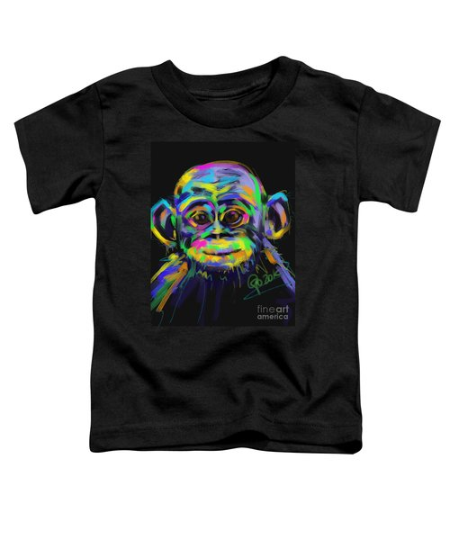 Wildlife Baby Chimp Toddler T-Shirt