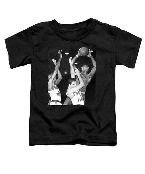 Wilt Chamberlain Shoots Toddler T-Shirt