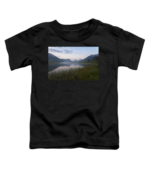 Toddler T-Shirt featuring the photograph Wind River Morning by Dustin  LeFevre