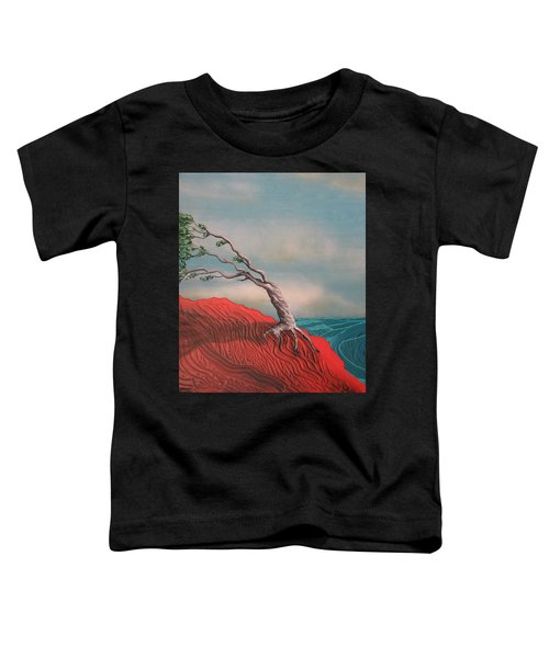 Wind Swept Tree Toddler T-Shirt