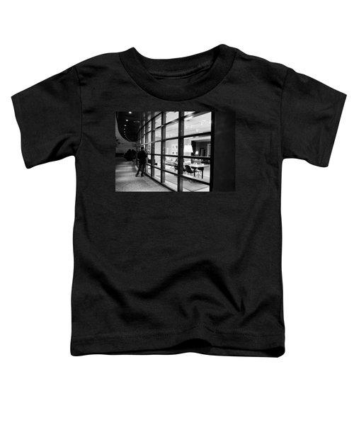 Window Shopping In The Dark Toddler T-Shirt
