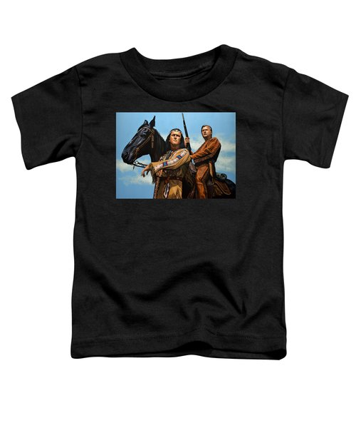 Winnetou And Old Shatterhand Toddler T-Shirt