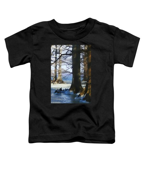 Winter At Reelfoot Lake Toddler T-Shirt