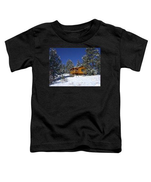 Winter Cabin Toddler T-Shirt