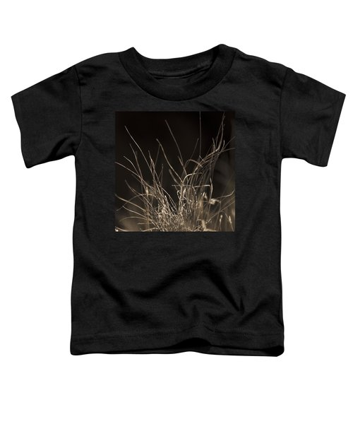 Toddler T-Shirt featuring the photograph Winter Grass 2 by Yulia Kazansky