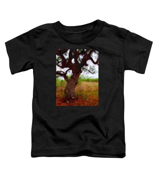 Da214 Wise Old Tree By Daniel Adams Toddler T-Shirt