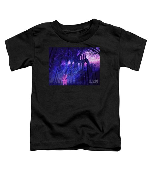 Wolf And Magic Toddler T-Shirt