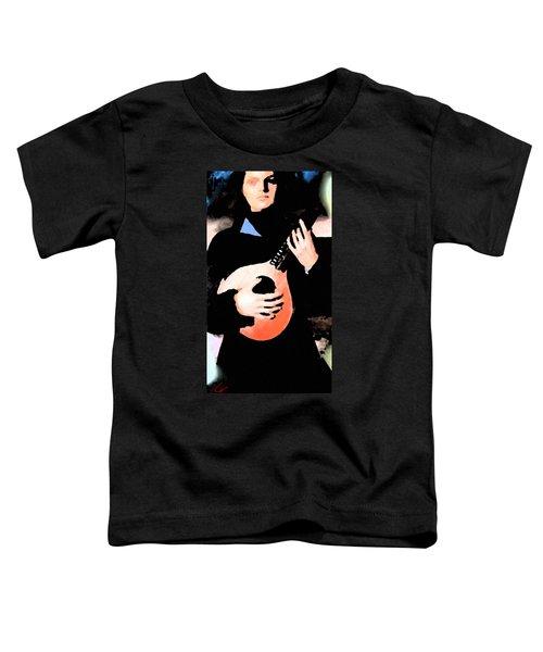 Women With Her Guitar Toddler T-Shirt