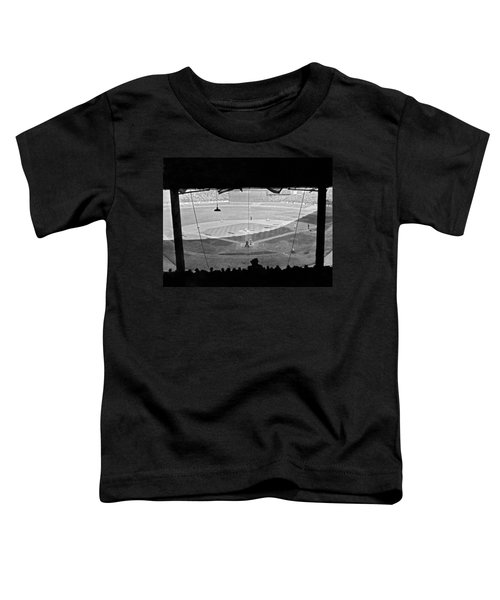 Yankee Stadium Grandstand View Toddler T-Shirt by Underwood Archives