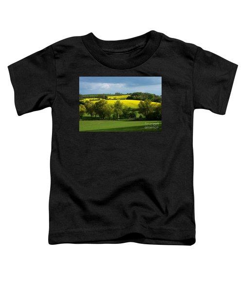 Yellow Fields In The Sun Toddler T-Shirt