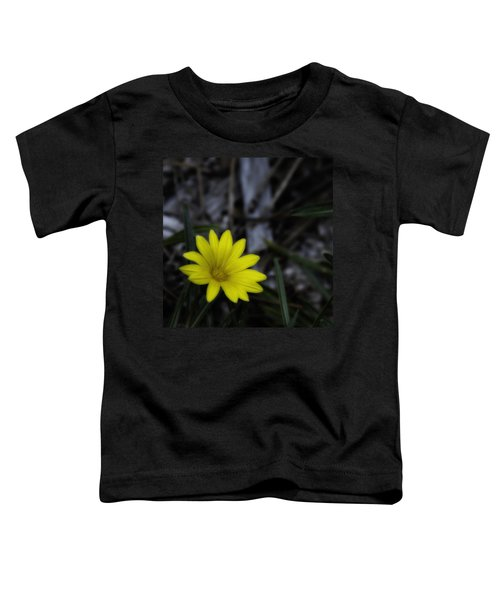 Yellow Flower Soft Focus Toddler T-Shirt