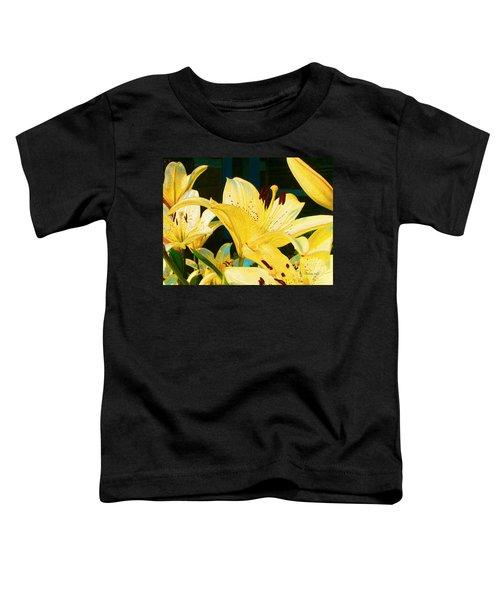 Yellow Lilies Toddler T-Shirt