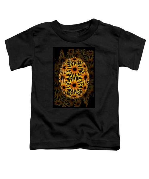 Yellow Sunflower Seed Toddler T-Shirt