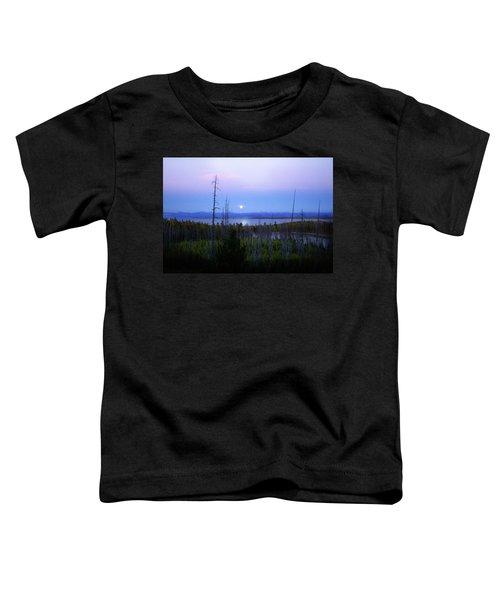 Yellowstone Moon Toddler T-Shirt