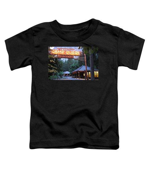 Yosemite Curry Village Toddler T-Shirt