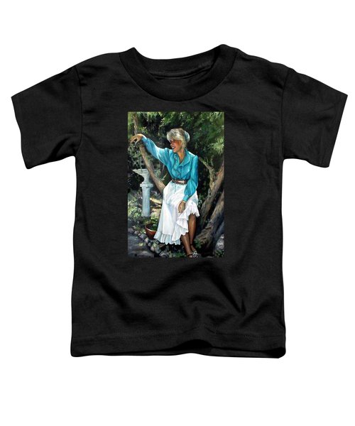 Young Self Portrait Toddler T-Shirt
