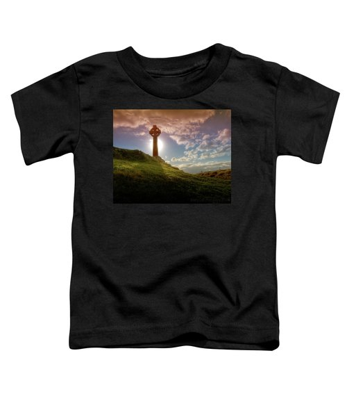 Celtic Cross Toddler T-Shirt
