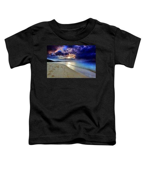 Port Stephens Sunset Toddler T-Shirt