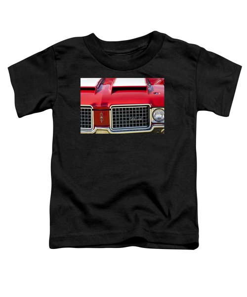1972 Oldsmobile Grille Toddler T-Shirt