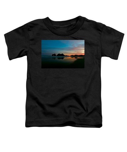 Golden Morning At A Beach  Toddler T-Shirt