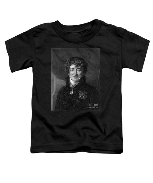Georges Cuvier, French Naturalist Toddler T-Shirt