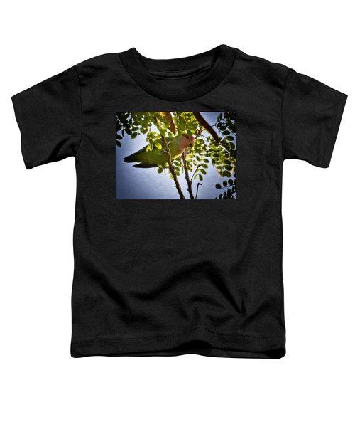 A Little Love  Toddler T-Shirt by Saija  Lehtonen