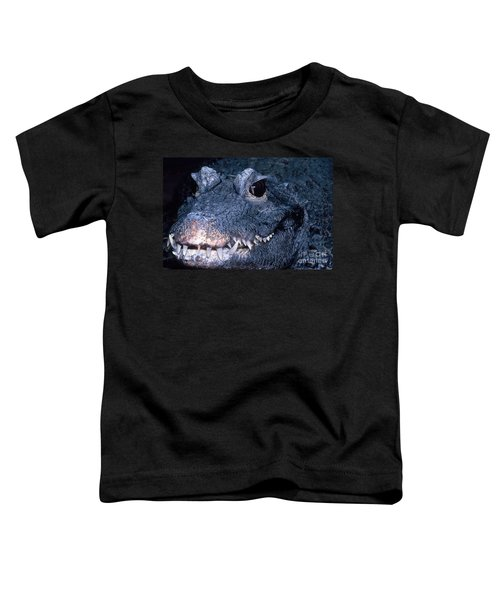 African Dwarf Crocodile Toddler T-Shirt