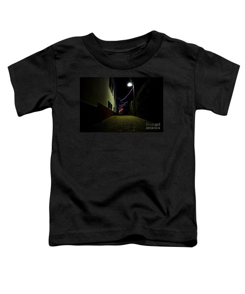 Alley With Lights Toddler T-Shirt