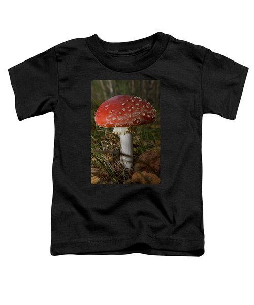 Amanita Muscaria Toddler T-Shirt