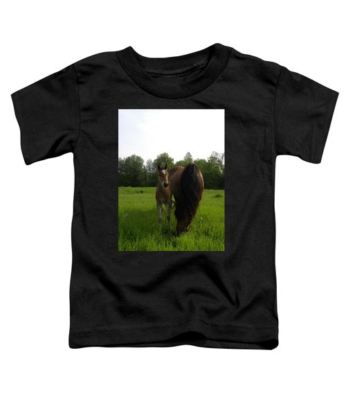 Babe With Mom Toddler T-Shirt