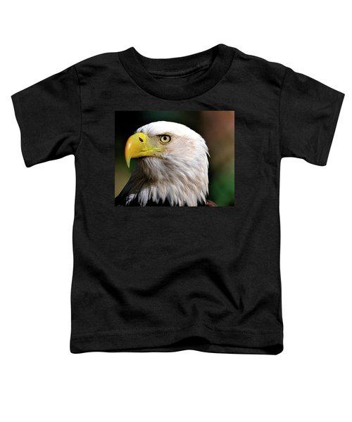 Bald Eagle Close Up Toddler T-Shirt
