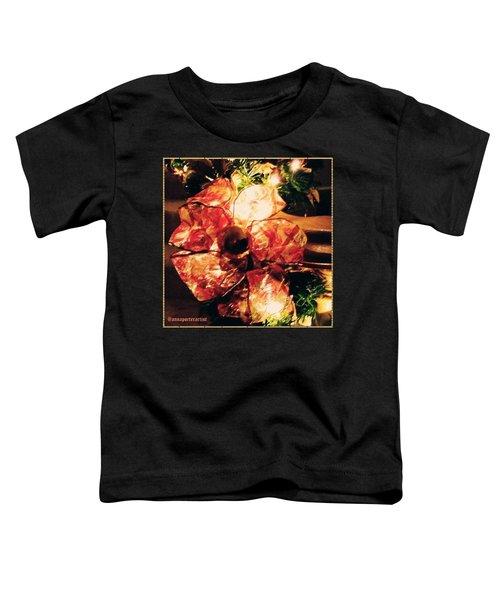 Beribboned #christmas #ribbon Toddler T-Shirt