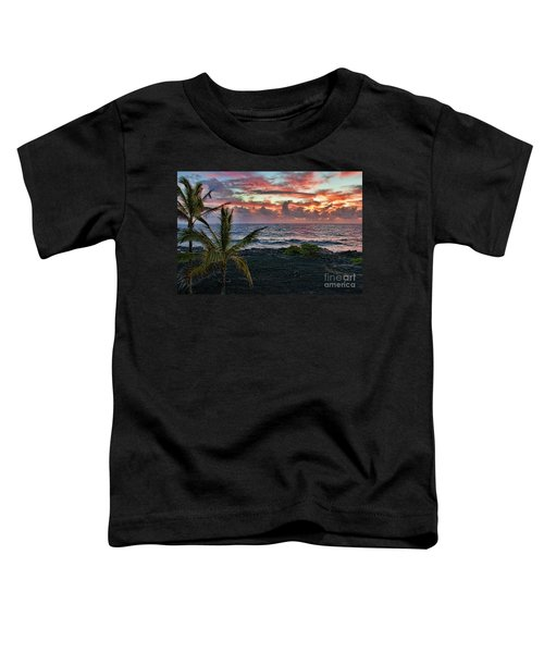 Big Island Sunrise Toddler T-Shirt