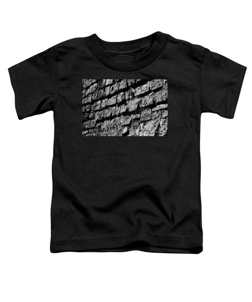 Black Wall Toddler T-Shirt