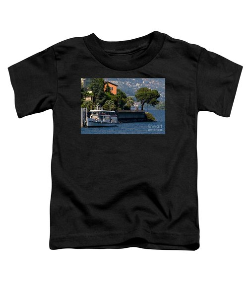 Boat And Tree Toddler T-Shirt