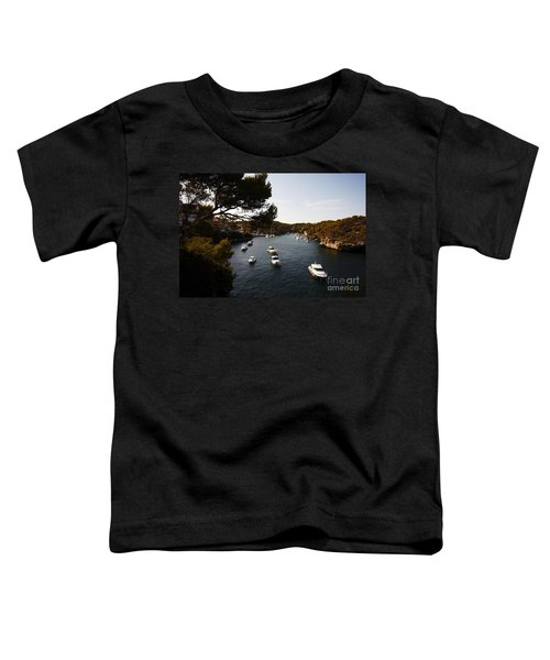Boats In Cala Figuera Toddler T-Shirt