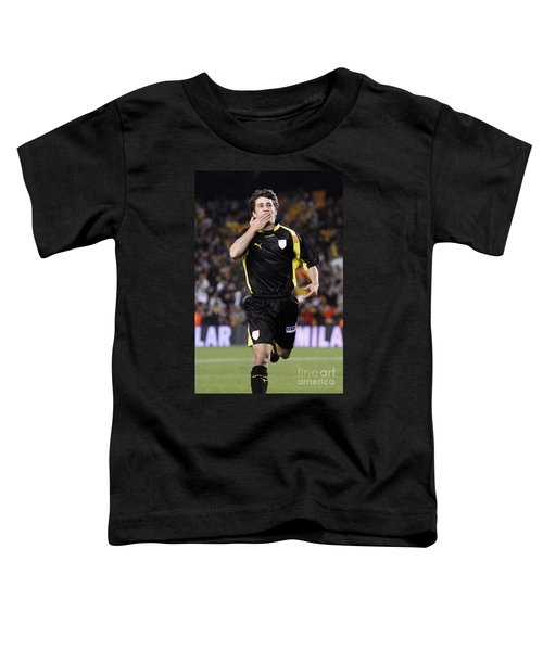 Bojan Krkic Celebrating A Goal 2 Toddler T-Shirt