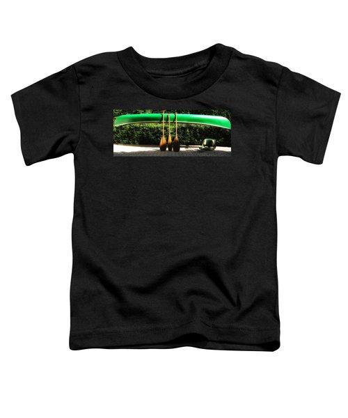 Canoe To Nowhere Toddler T-Shirt