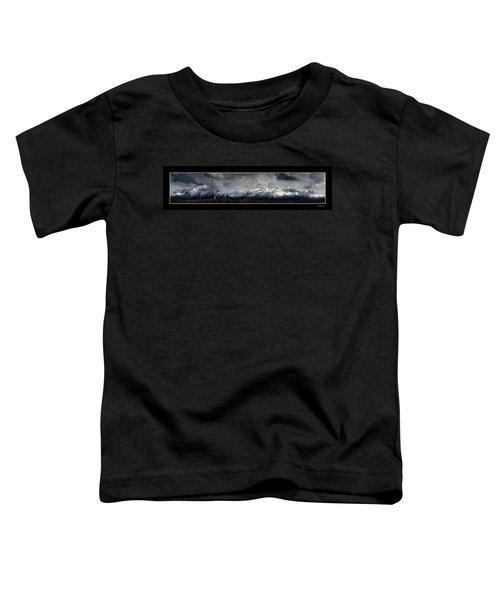 Chugach Mountains Toddler T-Shirt