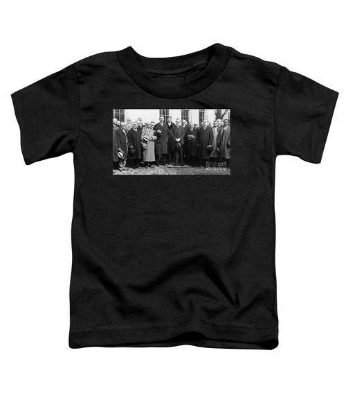 Coolidge: Freemasons, 1929 Toddler T-Shirt by Granger