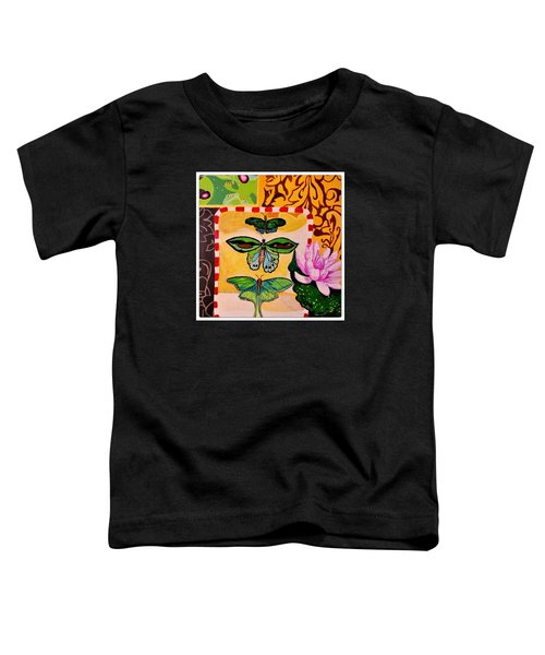 Oil Collage Toddler T-Shirt
