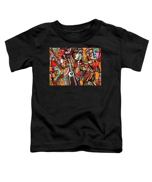 Day Of The Dead Lovers Tango Toddler T-Shirt